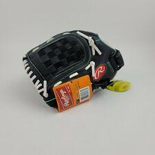 Rawlings 11.5 inch Fastpitch Softball Glove Black Teal WFP115MT LHT New w/tags