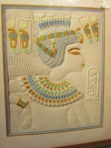 King Tut Egyptian Candlewicking Craft Kit-11x14 Inches/28x35.6 cm-Janlynn