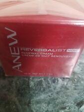AVON Anew Reversalist Renewal Night Cream Sealed New in Box NIB 1.7 oz
