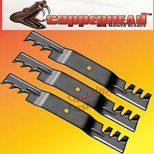 "Copperhead Commercial Heavy Duty Multch Blades John Deere 54"" Cut 7-Iron Deck"