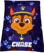 Paw Patrol Boys Chase Coral Soft Fleece Blanket