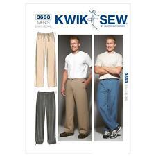 KWIK COUSUE COUTURE MOTIF POUR HOMMES PANTALON TAILLE S - XXL K3663