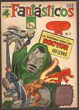 "1965 Marvel Comics ""Los 4 Fantasticos"" Annual #2 - (Grade 5.0) WH"