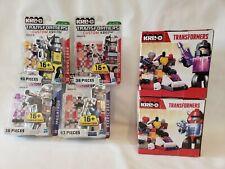 Kre-o Transformers Megatron, Starscream, Bumblebee, Ironhide LOT NIB