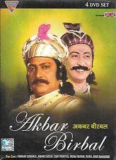 AKBAR BIRBAL - VIKRAM GOKHALE - ANANG DESAI - HIT TV SERIAL - SET OF 4 DVDs