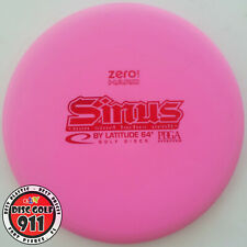 New Latitude 64 Zero Hard Sinus 174g (overstable putt and approach, pink)