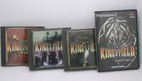 PS1 PS2 Software KING'S FIELD 1 , 2 , 3 & 4 4Games Set Japan import PlayStation