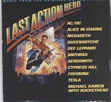 Last Action Hero soundtrack  cd