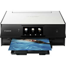 Canon PIXMA TS9020 Wireless Inkjet Printer with Print, Scan & Copy in White
