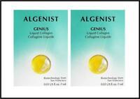 Algenist Genius Liquid Collagen Face Serum Samples 2 x 0.03oz Vegan Formulation