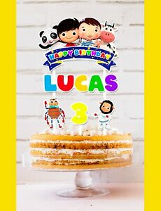 Little Baby Bum Cake Topper Personalised *STURDY* Birthday Party Decorations