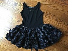 $88 Dolls and Divas Couture Black Kids Dress Boutique Size 4 Stunning