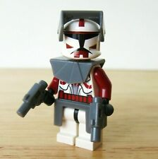 Lego Clone Commander FOX 7681 Star Wars Minifigure RARE