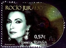 ESPAÑA 2016 1624 Personajes Rocío Jurado 1v.