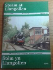 STEAM AT LIANGOLLEN RAILWAY TRUST  LTD. NO.86 AUTUMN 1998