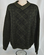 Mens XL Wool Blend Sweater Made in Italy Limited Editions by Expressions EUC