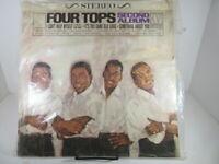 FOUR TOPS Second Album S634 LP Vinyl 1965 Shrink VG++ c VG+