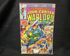 John Carter Warlord of Mars #9 (Feb 1978, Marvel) Ships bag And Boarded