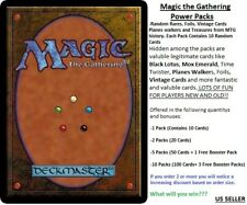 Magic the Gathering TCG - All Rares / Mythic / Foil Rare 10 card POWER PACKS