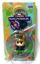 Hot Toys Thor Ragnarok Cosbaby Keychain Marvel Loki  Key chains