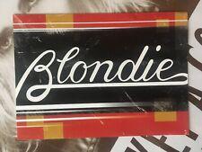 Blondie Promo Flyer Cd September 11,2001 Plastic Letters Hunter AutoAmerican Eat