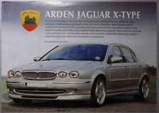 V02216 JAGUAR X-TYPE 4 DOOR ARDEN