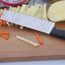 Ustensile De Cuisine Couteau à Pommes De Terre Coupe-frites Lame Dentelée