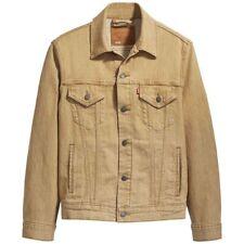 Levi's Vintage Fit Trucker Jacket, Beige, Vintage Oversized Fit 77380-0008 BNWT