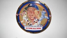MICKEY MANTLE -16 Time All-Star 1995 COLLECTORS PLATE--THE HAMILTON COLLECTION