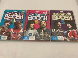 THE MIGHTY BOOSH SEASON 1 2 3 dvd set REGION 4 comedy COMPLETE SERIES abc BBC