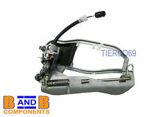 BMW X5 E53 FRONT INNER CARRIER OUTER DOOR HANDLE HOUSING 51218243616 RH A240