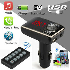 Bluetooth Wireless FM Transmitter Car Kit MP3 Player LCD USB Charger Handsfree