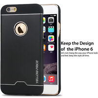 For iPhone 6 & 6S Plus 360° Full Hybrid Aluminum Silm Hard Protective Case Cover