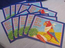 Will A Parrot Eat A Carrot? 10 Student Books Ballard & Tighe Teacher School ESL