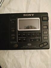 Sony ICF Sw33 world band reciver. All time favourite Radio. Rare. Works fine.