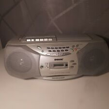 Sony Portable CD Radio Tape Cassette Player Recorder CFD-S36L