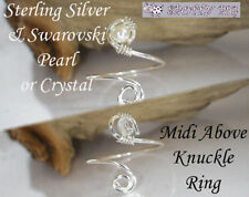 Handmade Pearl Costume Rings