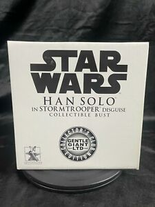GENTLE GIANT STAR WARS HAN SOLO IN STORMTROOPER DISGUISE COLLECTORS EDITION BUST