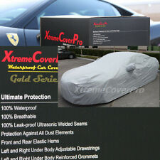 2015 MITSUBISHI LANCER Waterproof Car Cover w/Mirror Pockets - Gray