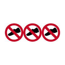 Autocollants : autocollant PISCINE Chaussures interdites