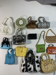 Lot of Vintage Barbie Bags, Purses, Totes, Cluctches, Accessories! FR Vogue etc.