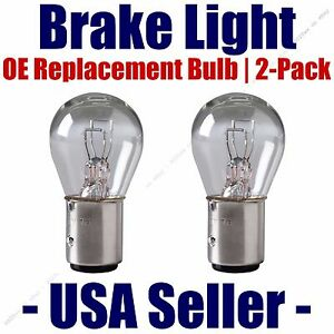 Stop/Brake Light Bulb 2pk - Fits Listed Renault Vehicles - 2057