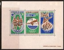 DAHOMEY 1972 SPORT OLYMPIC OVERPRINT SC # C172a MNH