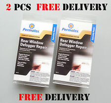 2 X PERMATEX Rear Window Defogger Repair Kit 09117 high-quality electric glue