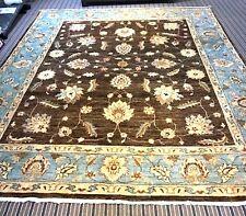 £4500 JOHN LEWIS HANDMADE Persian Ziegler vegetable dye chobi BLUE 300 x 245 cm