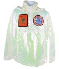 Louis Vuitton Iridescent Virgil Abloh Transparent Patches Windbreaker 12lz1023