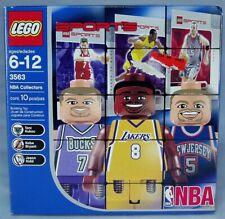 Lego 3563 NBA Collectors 4 - New in Box! Ships Free in USA! Kobe Bryant figure!