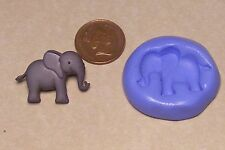 Elefante Reutilizables Molde de Silicona Pastelería Joyas tarjeta Topper alimentos seguros N