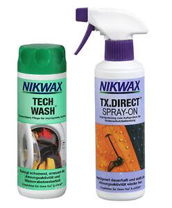 NIKWAX Tech Wash & TX.Direct; GoreTex Waschmittel + aufsprühbare Imprägnierung