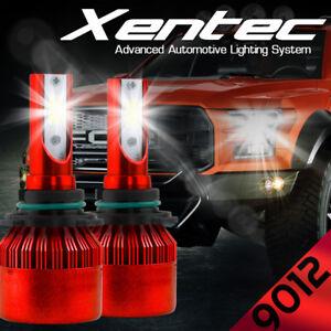 XENTEC 9012 LED Headlight Bulb Conversion Kit for GMC Sierra 1500 2500 3500 HD